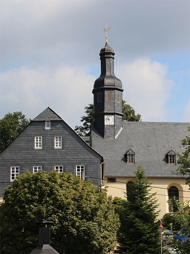 Kirche in Lauter-Bernsbach