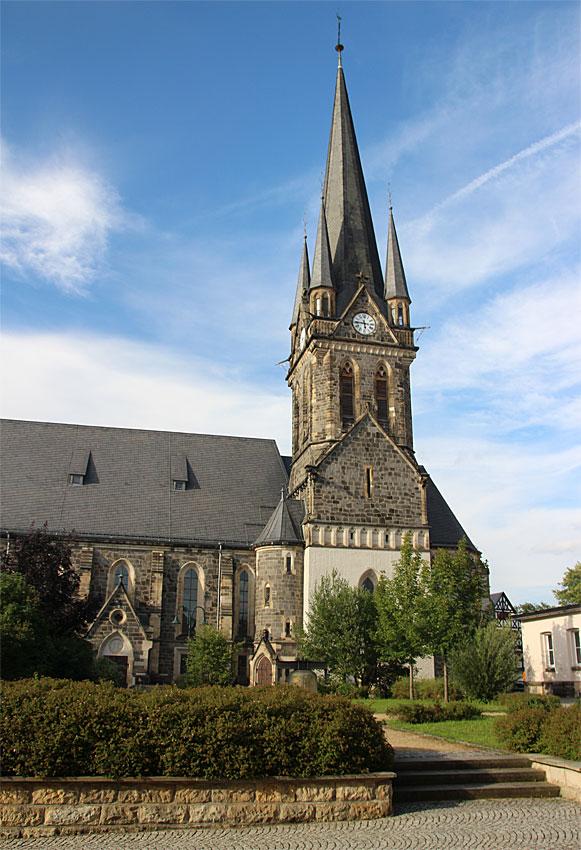 St.- Jacobi-Kirche in Neustadt in Sachsen