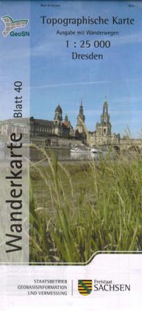 Wanderkarte Dresden und Umgebung