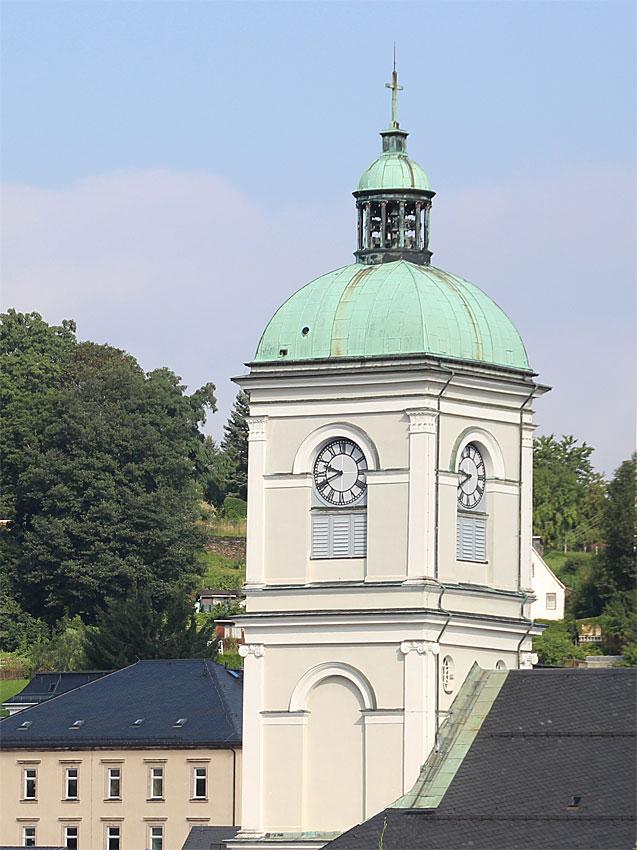 Johanniskirche in Lößnitz im Erzgebirge