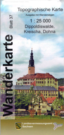 Wanderkarte Dippoldiswalde, Kreischa und Dohna